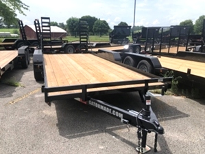 Bobcat Trailer with Ramps  Bobcat Trailer with Ramps. Gatormade 16ft 10.4k Bobcat Trailer