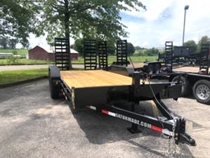 Bobcat Trailer 14k with Ramps  Bobcat Trailer 14k with Ramps. Gatormade 14k 18ft Bobcat Trailer with Ramps