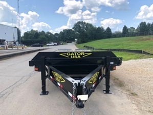 14k Bobcat Trailer For Sale 14k Bobcat Trailer For Sale. Pintle style with ball coupler.