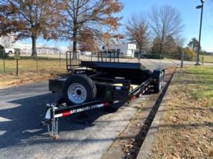 Bobcat Trailer Tilt Bed 14k Bobcat Trailer Tilt Bed 14k. 14k Tilt Bed with powder coat finish
