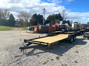 Bobcat Trailer Low Profile  Bobcat Trailer Low Profile. With stand up ramps