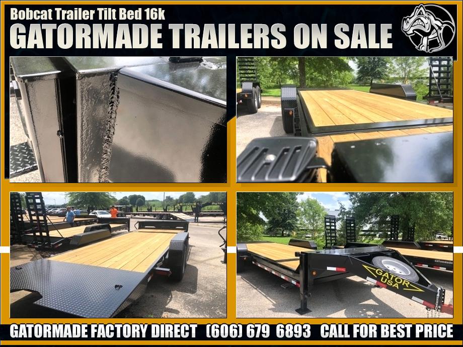 Image Bobcat Tilt Trailers